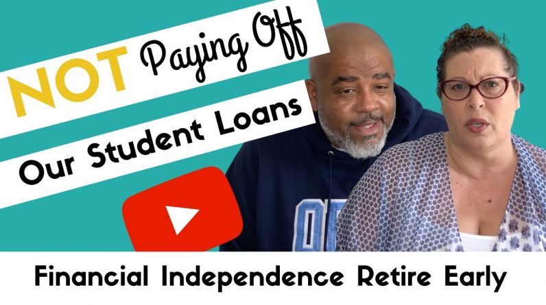 FINANCIAL INDEPENDENCE WITH $350K IN STUDENT LOANS? [F.I.R.E. Series] -How to Pay Off Student Loans